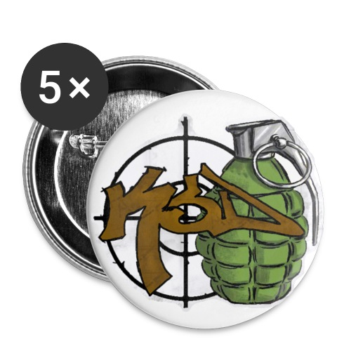 KsD Pins - Small Buttons