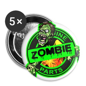 Zombie Parts Pins - Small Buttons