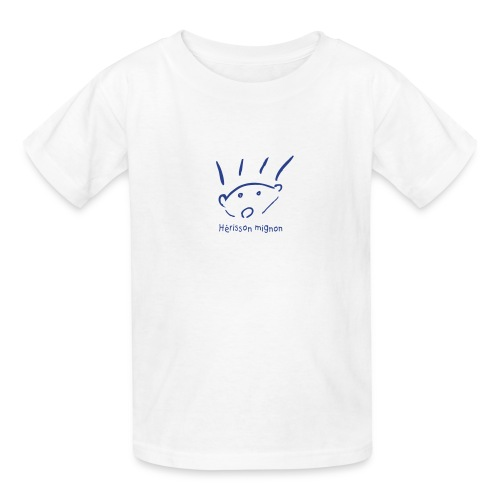 Kids' T-Shirt - Hérisson mignon