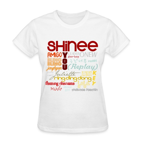 (SHINEE) - Collage - Women's T-Shirt
