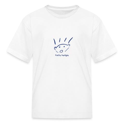 Kids' T-Shirt - Hedgehog - Pretty hedgie