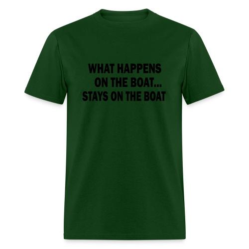 Mens boat - Men's T-Shirt