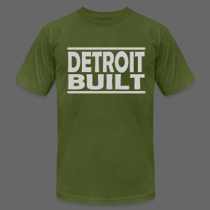 Detroit Clothing Built Men's American Apparel Tee - Men's T-Shirt by American Apparel
