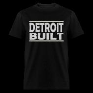 T-Shirts ~ Men's T-Shirt ~ Detroit Clothing Built Men's Standard Weight T-Shirt