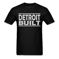 T-Shirts ~ Men's T-Shirt ~ Detroit Clothing Built Men's Standard Weight T-Shirt