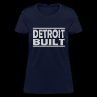 T-Shirts ~ Women's T-Shirt ~ Detroit Clothing Built Women's Standard Weight T-Shirt