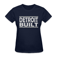 Women's T-Shirts ~ Women's T-Shirt ~ Detroit Clothing Built Women's Standard Weight T-Shirt