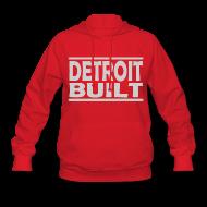 Hoodies ~ Women's Hoodie ~ Detroit Clothing Built Women's Hooded Sweatshirt
