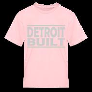 Kids' Shirts ~ Kids' T-Shirt ~ Detroit Clothing Built Kid's T-Shirt