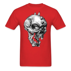 Spikey Skull - Men's T-Shirt