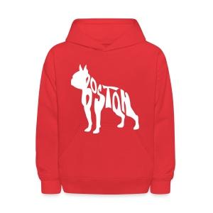 Boston Terrier Kid's Crewneck Sweatshirt - Kids' Hoodie
