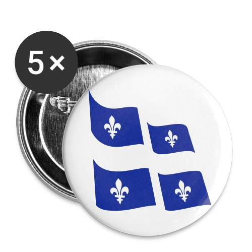 Badge IPSO - Buttons large 2.2'' (5-pack)