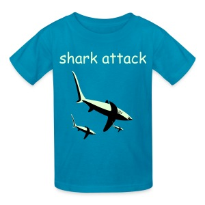 Shark Attack - Kids' T-Shirt