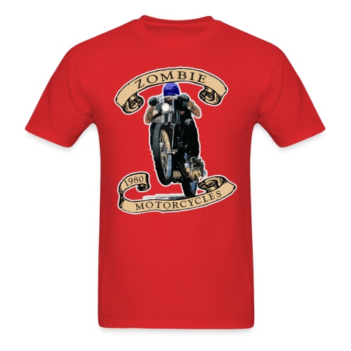 Zombie Wheelie - Men's T-Shirt