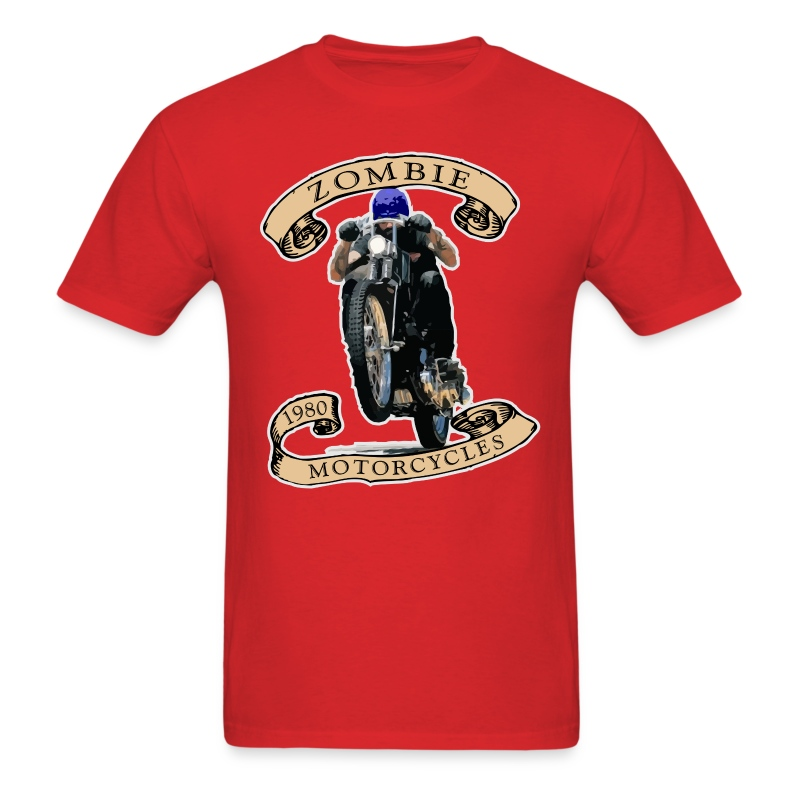 Zombie Wheelie - Men's T-Shirt