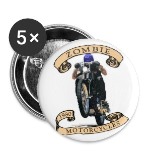 Zombie Wheelie - Small Buttons