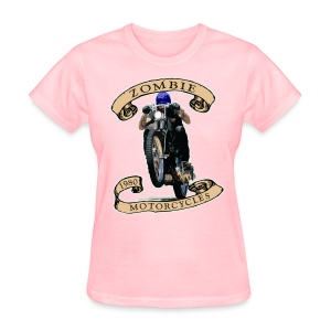 Zombie Wheelie - Women's T-Shirt