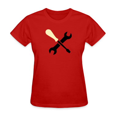 Red tools Women's T-Shirts
