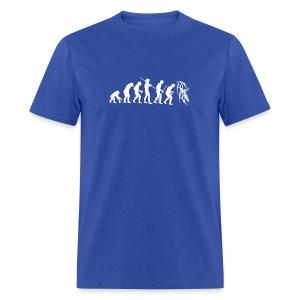 Evolution Kayak White  - Men's T-Shirt