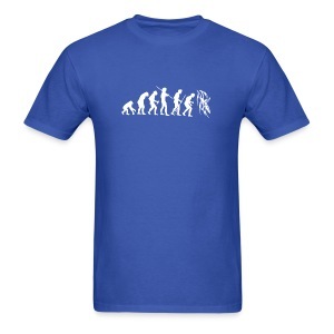 Evolution Kayak White  - Men's T-Shirt