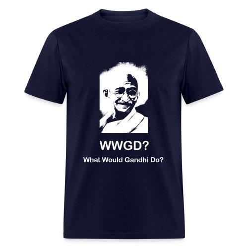 What Would Gandhi Do? - Men's T-Shirt
