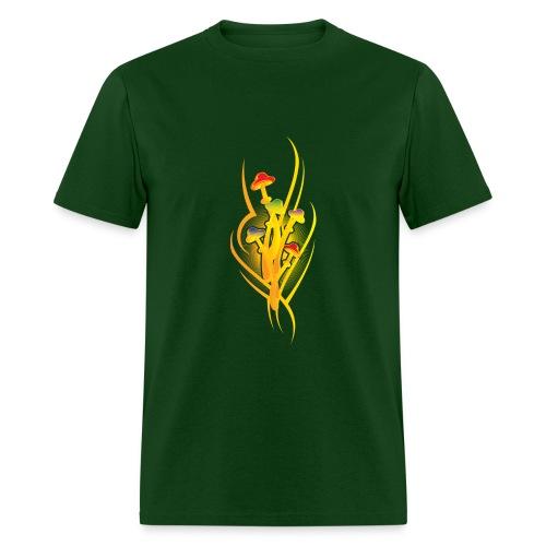 Rainbow Mushroom Art - Men's T-Shirt