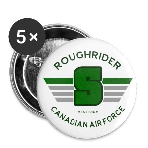 RCAF Logo Buttons - Large Buttons