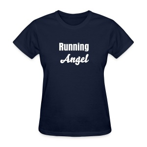 Women's T-Shirt - running angel