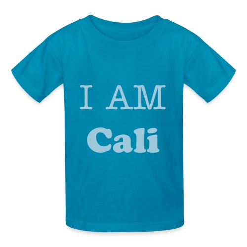 I AM Cali - Kids' T-Shirt