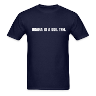 T-Shirts ~ Men's T-Shirt ~ Obama is a GDI.