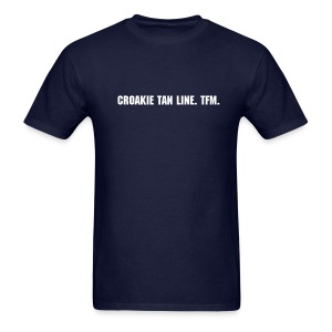 Croakie tan line. - Men's T-Shirt