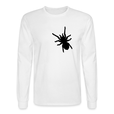White spider Long Sleeve Shirts
