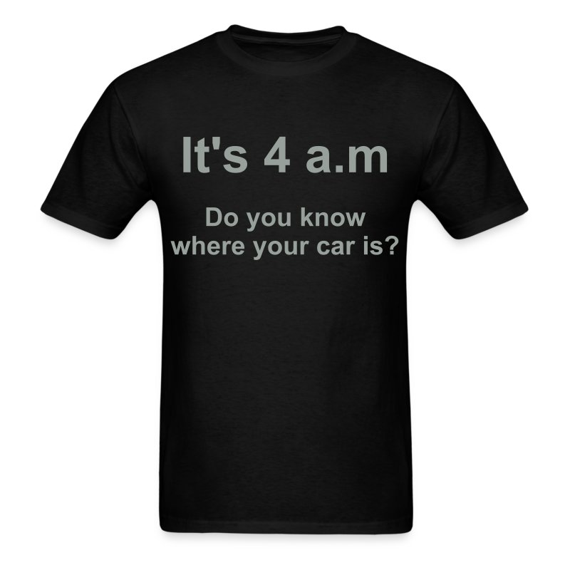 4AM - Men's T-Shirt