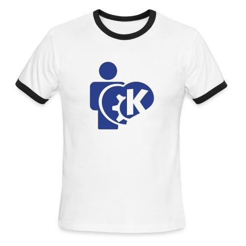 KDE - Ringer T - Men's Ringer T-Shirt