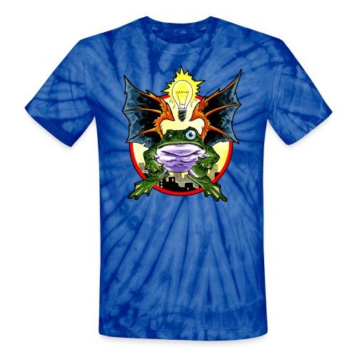 Flying Frog - Unisex Tie Dye T-Shirt
