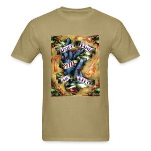 Broken Hands Still Can't Tattoo - Men's T-Shirt