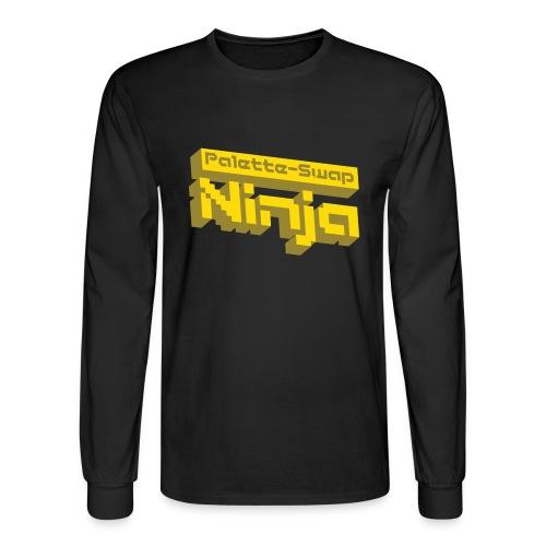 Palette-Swap Ninja - Logo Long Sleeve - Men's Long Sleeve T-Shirt