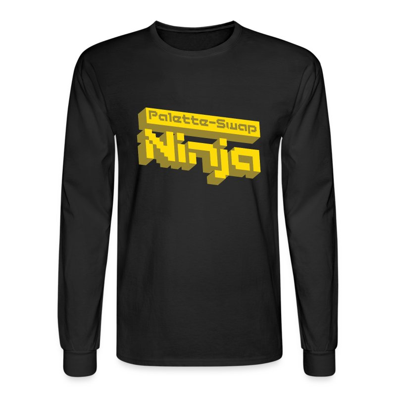 Palette-Swap Ninja - Logo Long Sleeve - Men's Long Sleeve T-Shirt
