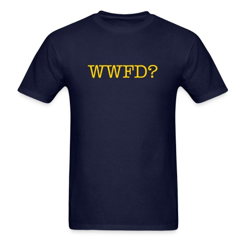 What Would Flynn Do? - Men's T-Shirt