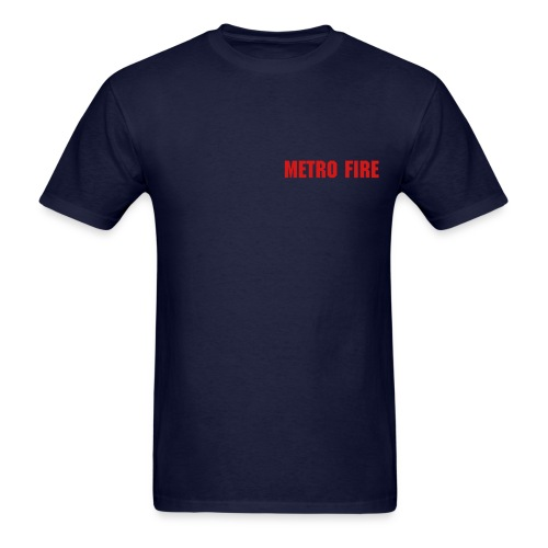 Metro Fire 500 Feet Tee - Men's T-Shirt