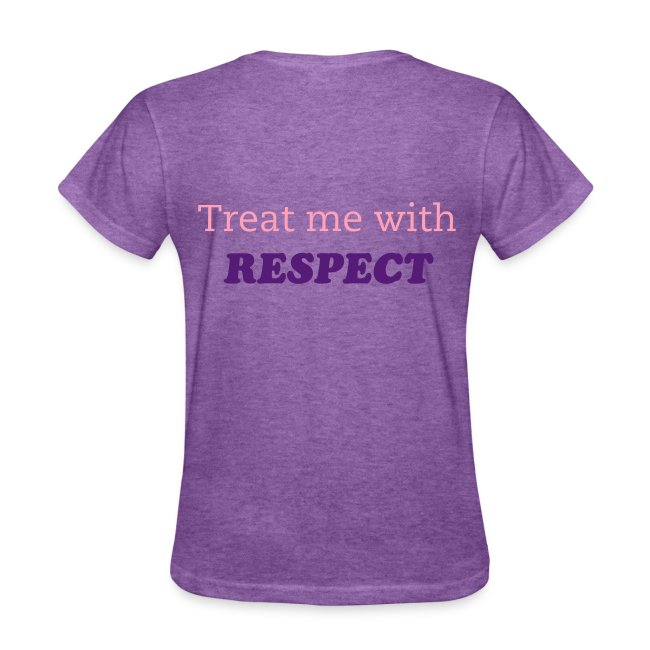 I am a LADY...Treat me with RESPECT