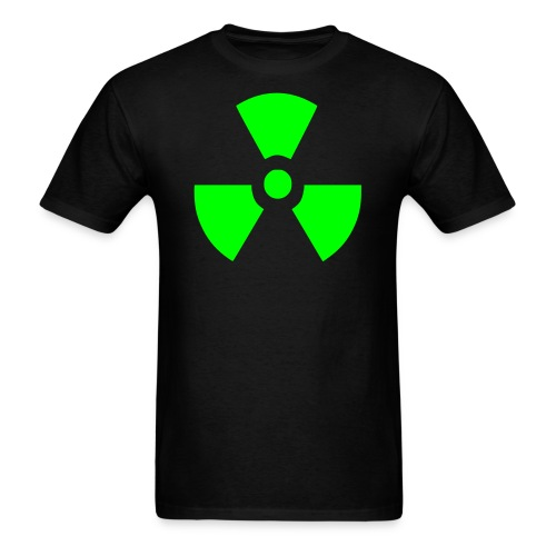 Men's Radiation Symbol Shirt - Men's T-Shirt