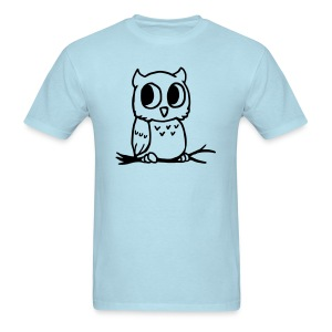 Men's Owl Shirt - Men's T-Shirt