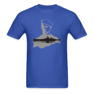 T-Shirts ~ Men's T-Shirt ~ Navy Man