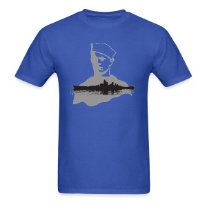 Navy Man - Men's T-Shirt