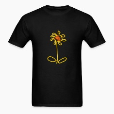 Black flower (2c) T-Shirts