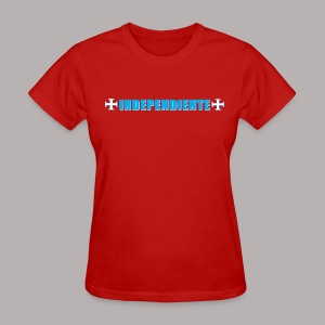 INDEPENDIENTE RED WOMEN - Women's T-Shirt