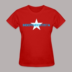 INDEPENDENTISTA RED WOMEN - Women's T-Shirt