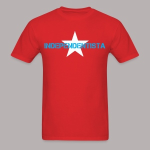 INDEPENDENTISTA RED MEN - Men's T-Shirt