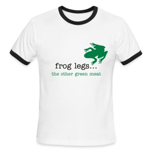 Frog legs... - Men's Ringer T-Shirt
